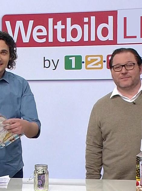 Johannes Riehm und Oliver Urso präsentieren Highlights von Weltbild.
