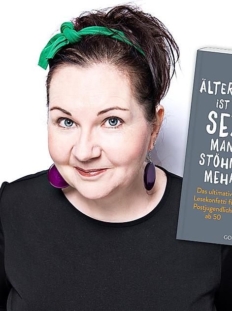 Gibt Survival-Tipps für den Überlebenskampf ab 50: Komikerin Sabine Bode im Interview