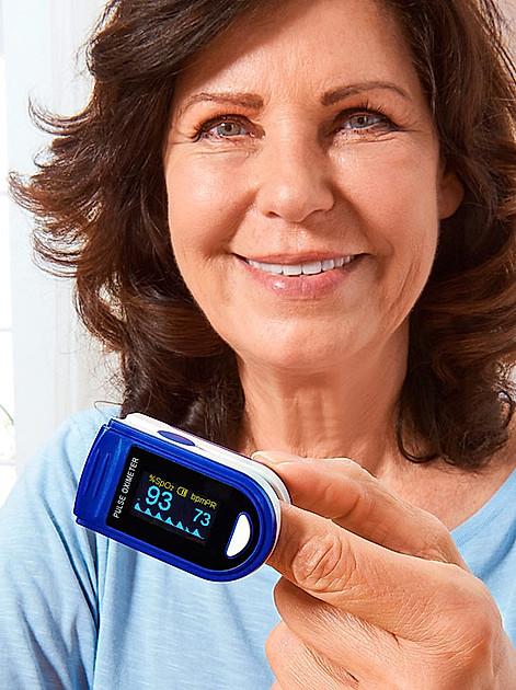 Sauerstoffsättigung des Blutes Schmerzfrei und zuverlässig messen