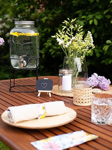 DIY-Anleitungen für ein Sommer-Picknick zu Hause