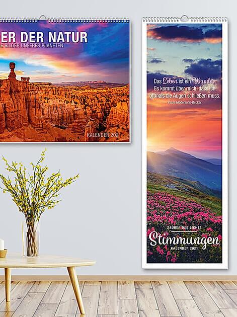 Zaubert Stimmung in jeden Raum: ein großformatiger Fotokalender