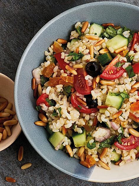 "Rezept für Getreidesalat aus ""Vegan-Klischee ade! Das Kochbuch"""