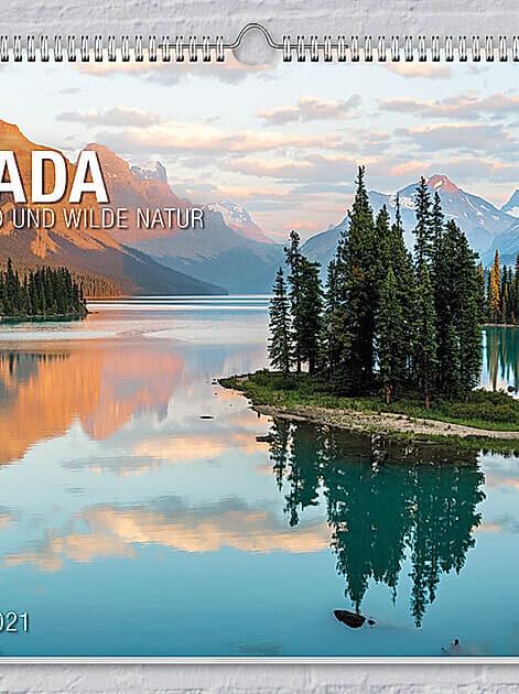 Kalender Kanada 2021 von Weltbild