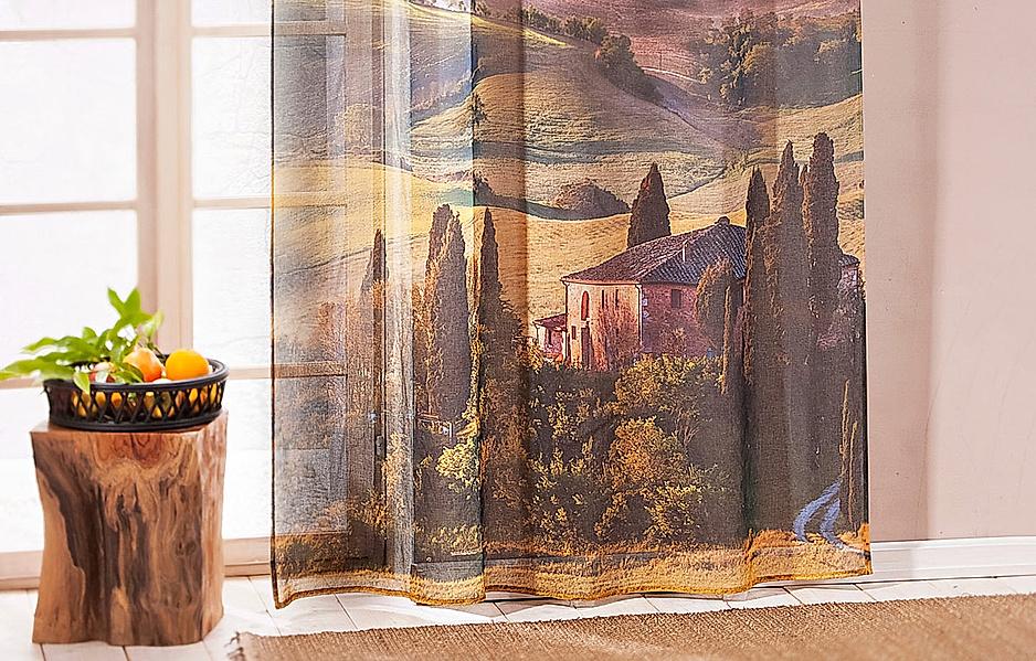 Vorhang Toskana