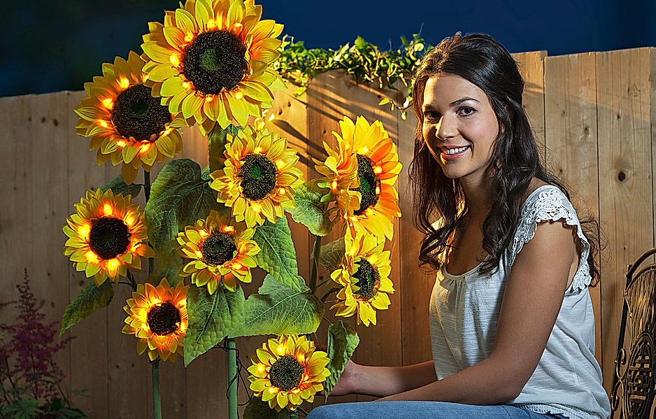 Gartenstecker Sonnenblume