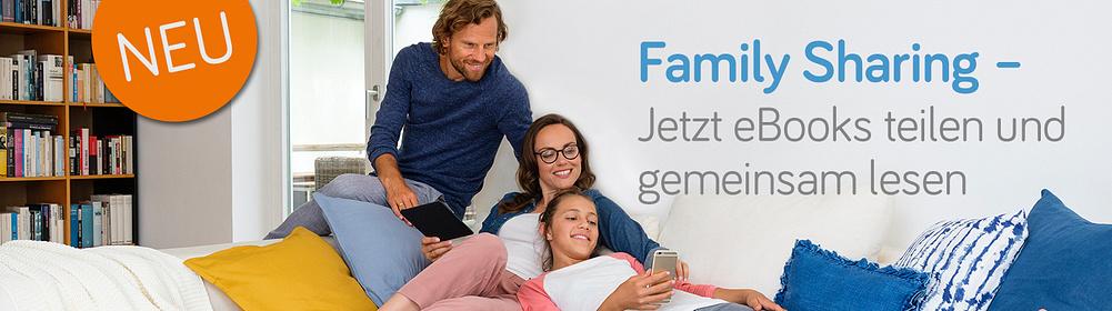 Family Sharing - das große Familienlesevergnügen