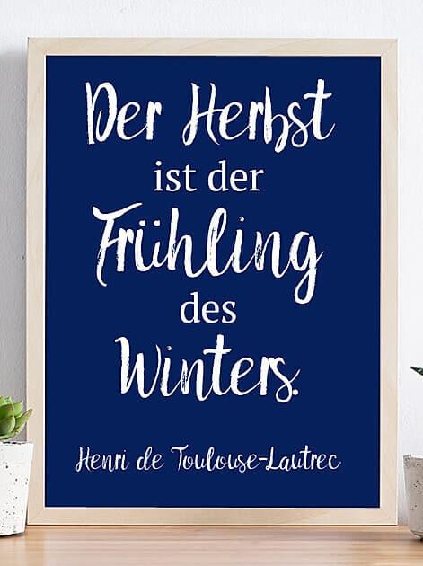 Der Herbst ist der Frühling des Winters - Henri de Toulouse-Lautrec