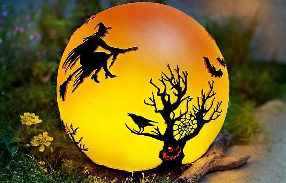 """Halloween-Beleuchtung: LED-Kugelleuchte """"Halloween"""""""