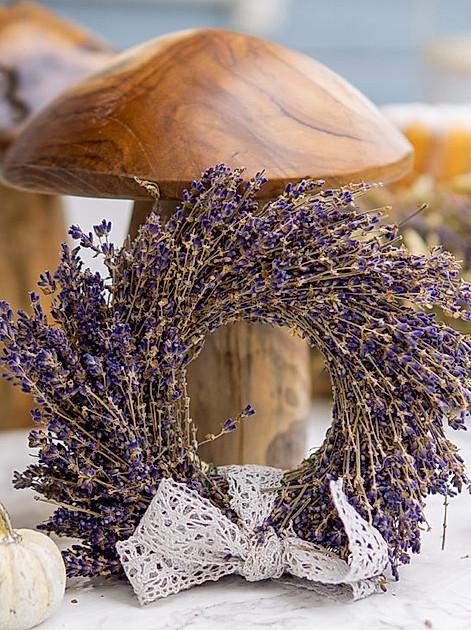 Tischdeko Herbst: Dekoideen mit Lavendel