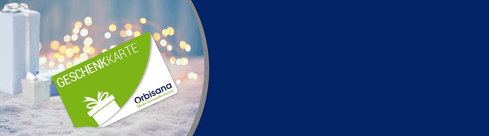"""Orbisana-Geschenkkarten: Schenken Sie Freude und Wohlbefinden!  • Wert nach Wahl von 10 € bis 100 € • sofort ausdrucken oder per Mail versenden • Das perfekte Last-Minute-Geschenk   {{ button href=""""/empfehlungen/geschenkkarten"""" text=""""Hier individualisieren"""" }}"""