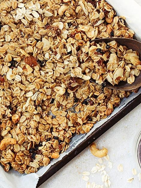 Granola selbst machen: Ein schnelles, gesundes und leckeres Frühstück