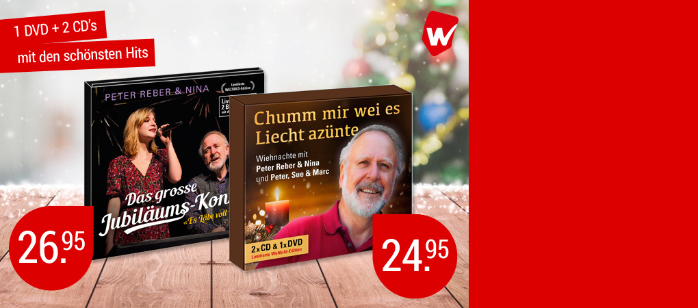 Geniessen Sie Wiehnachte mit Peter Reber!