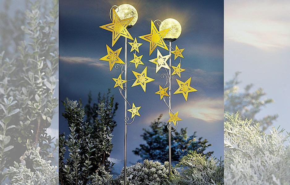 Gartenstecker Sternenschweif