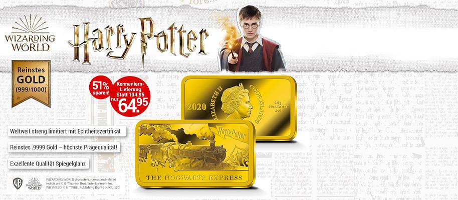 """# Die offiziellen Gold-Barrenmünzen  Jetzt können Sie die zauberhafte Welt von Harry Potter auf eine Weise entdecken, wie sie Fans in der ganzen Welt ungeduldig erwartet haben: **Die Kollektion mit den offiziellen """"Harry Potter"""" – Barrenmünzen ist endlich verfügbar.**  **Geprägt aus reinstem Gold (999/1000), setzen diese meisterhaft gestalteten Gedenkmünzen in der seltenen Barrenform dem berühmten Zauberlehrling und seinen Abenteuern ein einzigartiges Denkmal.**   Tauchen Sie ein in die faszinierende Welt der Geschichten um Harry Potter, seine Gefährten und gefährlichen Gegenspieler.   ** Nur ein begrenztes Kontingent der weltweit 10.000 Gold-Kollektionen steht dem deutschen Sammlermarkt zur Verfügung. Lassen Sie sich diese Gelegenheit nicht entgehen! **   {{ button href=""""/weltbild-editionen/schoenes-wertvolles/harry-potter/bestellen"""" text=""""Jetzt bestellen""""}}"""