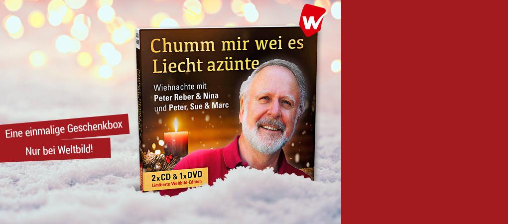 Geniessen Sie Wiehnachte mit Peter Reber auf 2 CDs + DVD
