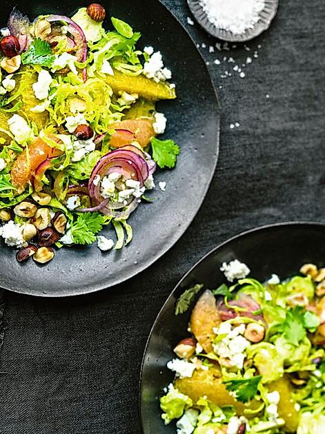 Weihnachts-Menü vegetarisch: Vorspeise
