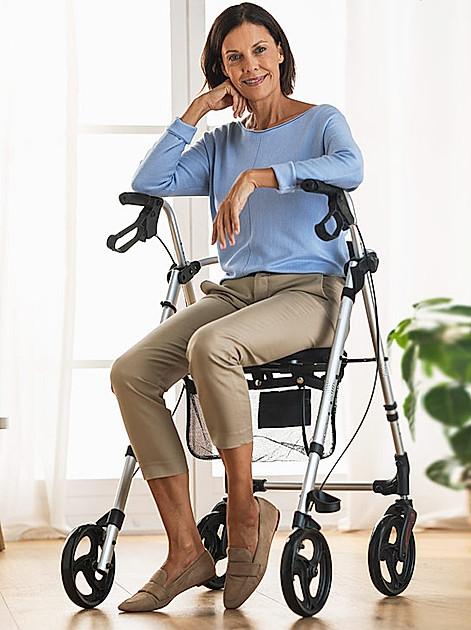 Bewegungsideen mit dem Rollator für mehr Mobilität