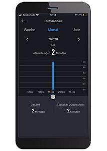App-Aufzeichnung Atemtraining