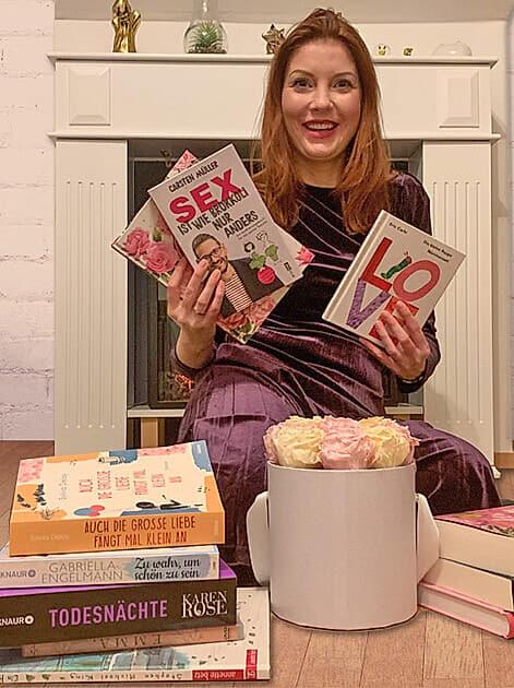 Buchtipps zum Valentinstag von Buch-Bloggerin Franziska Kurz