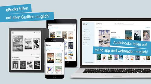 eBooks teilen auf allen Geräten