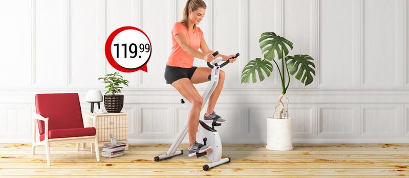"Heimtrainer Fitness-Fahrrad ""Go"" mit Trainings-DVD jetzt bei Orbisana entdecken!"