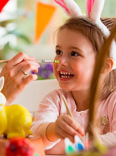 Ideen fürs Osterbasteln mit Kindern