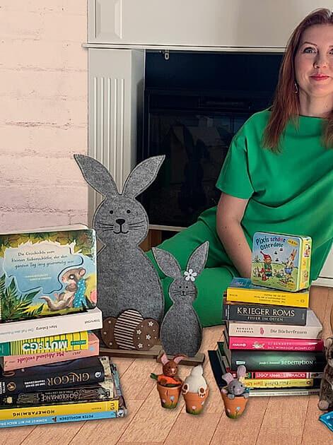 Neuer Lesestoff fürs Osternest empfohlen von Buchbloggerin Franziska Kurz