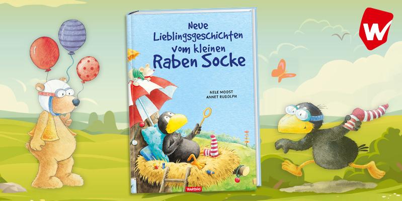 Rabe Socke