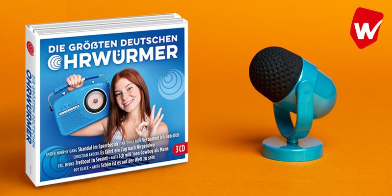 Die größten deutschen Ohrwürmer 3CD hier kaufen