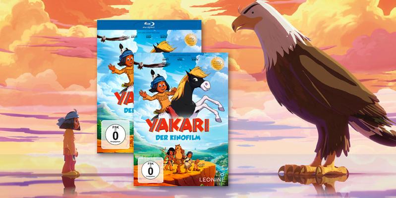Yakari Kinofilm DVD hier bestellen