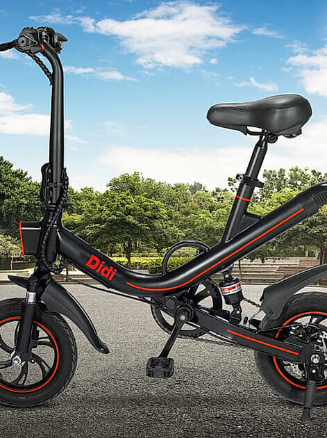 "Wir verlosen ein Mini-Elektro-Faltrad ""Didi"""
