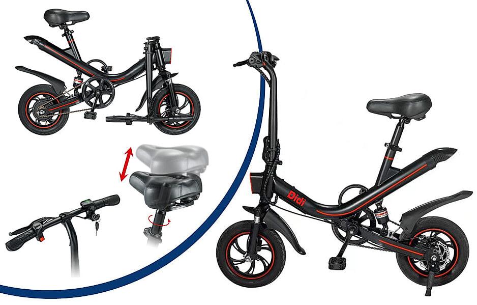Mini-E-Bike-Faltrad Didi Thurau
