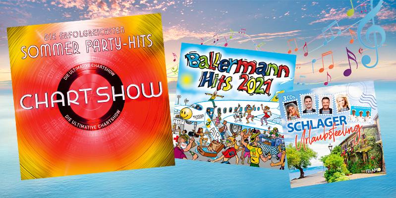 Sommerhits auf CD - jetzt stöbern und bestellen