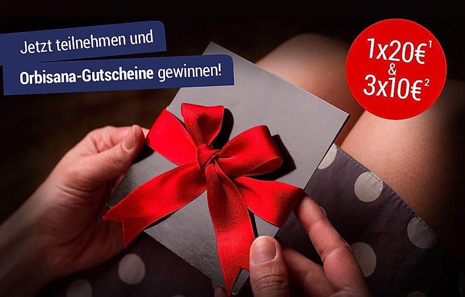 Gewinnen Sie jetzt 1x20€ oder 3x10€ Gutschein!