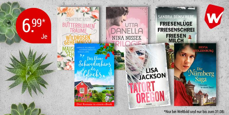 Nur bei Weltbild: 10 exklusive eBooks-Bundles zum günstigen Preis