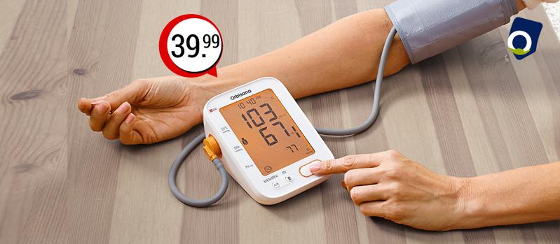 Orbisana Sprechendes Oberarm-Blutdruckmessgerät jetzt bei Orbisana entdecken!