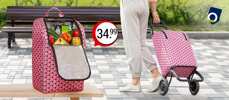 Einkaufstrolley 30L jetzt bei Orbisana entdecken!