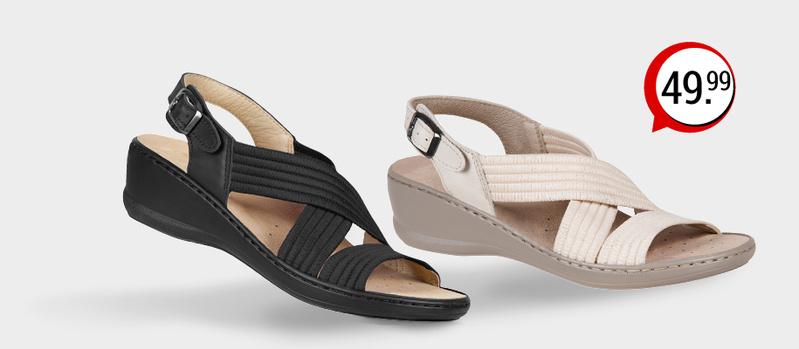 Aerosoft Stretch-Bequem Sandale jetzt bei Orbisana entdecken!