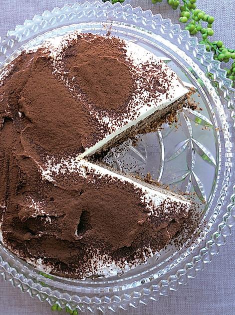 Rezept Cappuccino-Käsekuchen (mit Espresso)