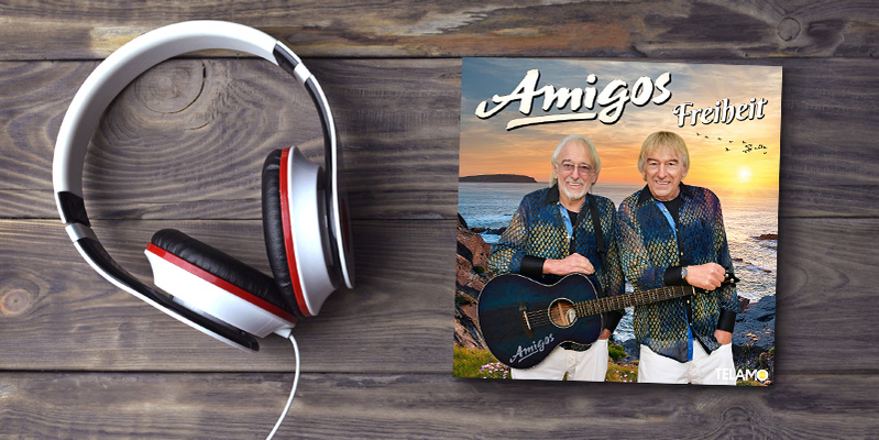 Die Amigos mit ihrem neuen Sommer-Album!