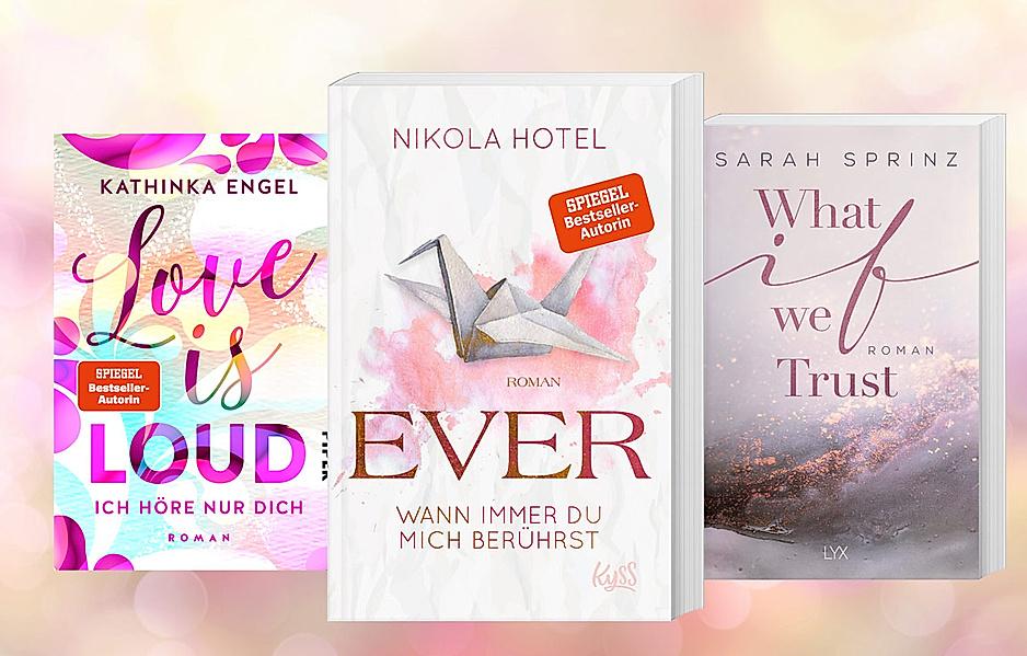 Sexy Bücher für heiße Sommernächte. Prickelnde Lesetipps von Franziska Kurz