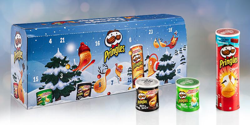 Pringles Chips-Adventskalender 2021