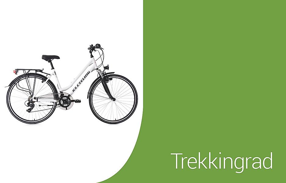 Auswahl an Trekking-Bikes