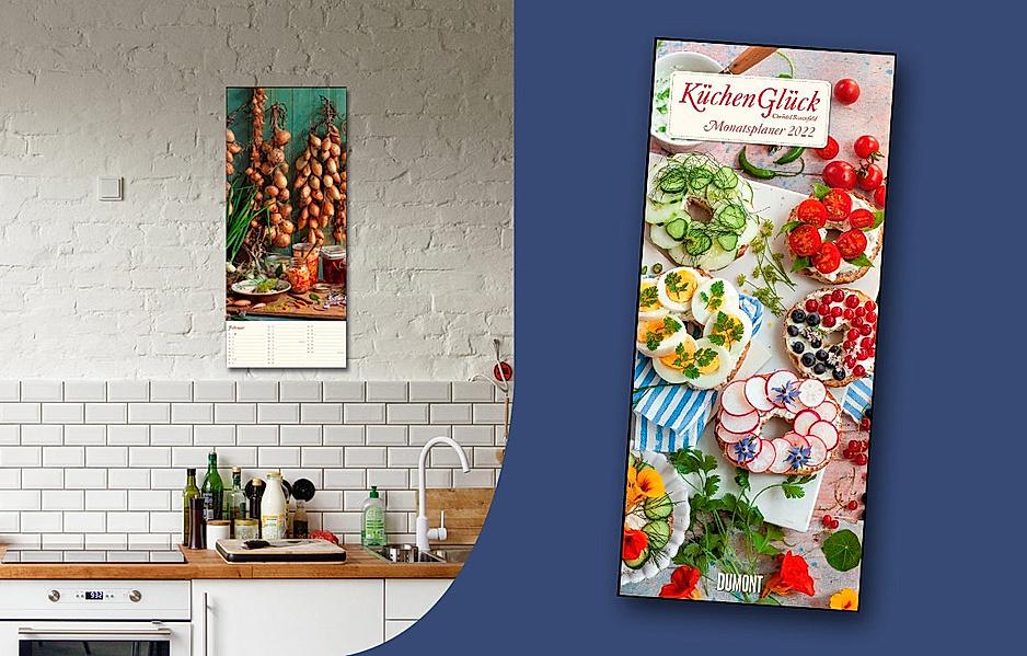 Große Auswahl an Kalendern zum Thema Essen & Trinken