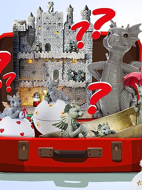 Drachenstarke Gewinne: Jetzt das Lösungswort knacken und ein Drachen-Überraschungs-Paket gewinnen