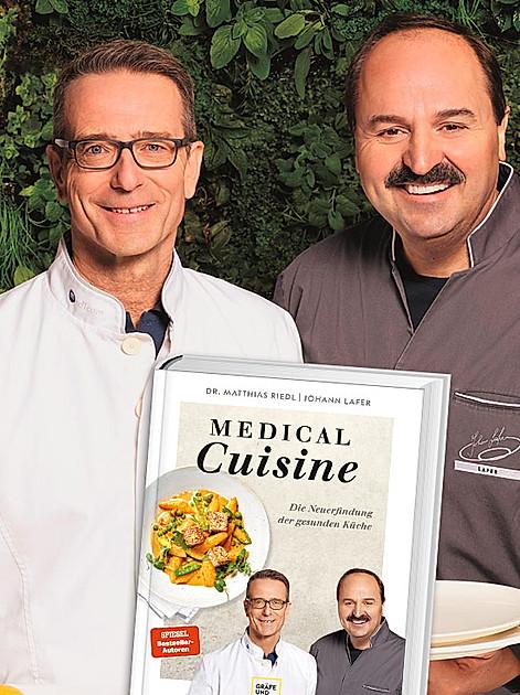 Gesund & lecker zugleich: Rezept für Hühnerfrikassee von Dr. Matthias Riedl und Johann Lafer aus Medical Cuisine