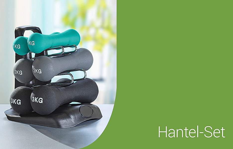 Hantel-Set für effizientes Fitness-Training zuhause