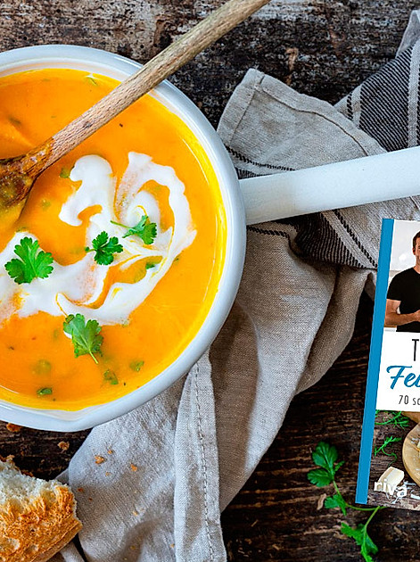 """Entdecken Sie ein schnelles Rezept für Kürbissuppe von Thomas Dippel (""""Thomas kocht"""")"""