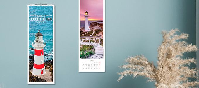 Bild Kalender (Kat 11 - Panoramakalender Leuchttürme 2022)