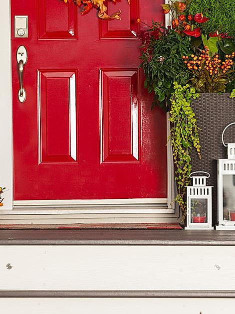 Ein schöner Eingang ist die beste Visitenkarte. Basteltipps für Ihr Türschild